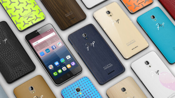 Alcatel unveils the OneTouch Pop Up and Pop Star: meet two colorful entry-level troopers