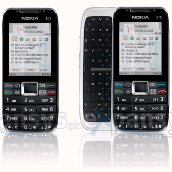 Nokia E75 available at eXpansys