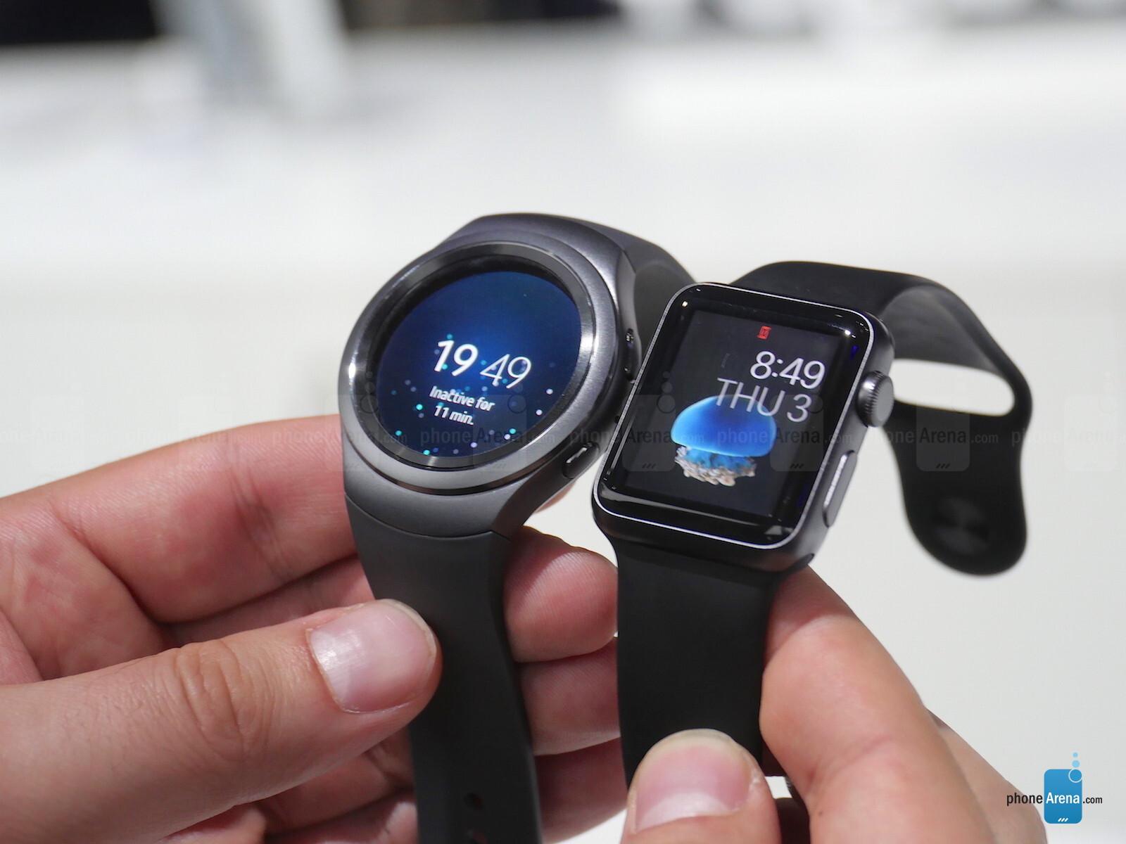 Samsung Gear S2 vs Apple Watch: first look