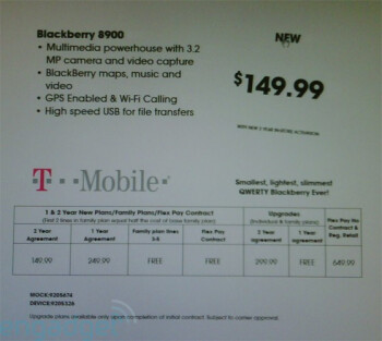 BlackBerry Curve 8900 for $149.99 at Best Buy?