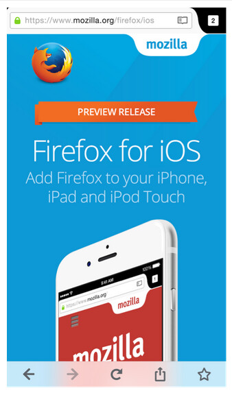 Mozilla is running a preview of Firefox for iOS in New Zealand