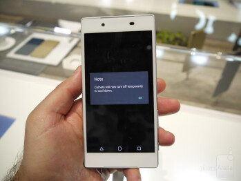 Sony Xperia Z5 prototype at IFA 2015