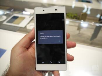 Sony Xperia Z5 prototype at IFA 2015