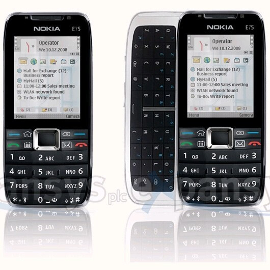 Nokia E75 - What is expected at the MWC 2009?