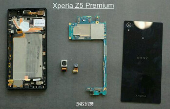 Sony Xperia Z5 Premium leaked teardown photo reveals dual heat pipes and thermal paste