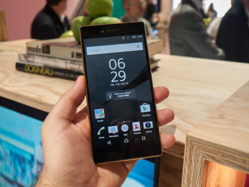 Sony Xperia Z5 Premium photos