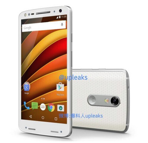 Alleged image of the Moto X Force