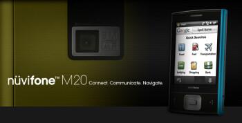 Garmin-Asus announce the M20 touchphone