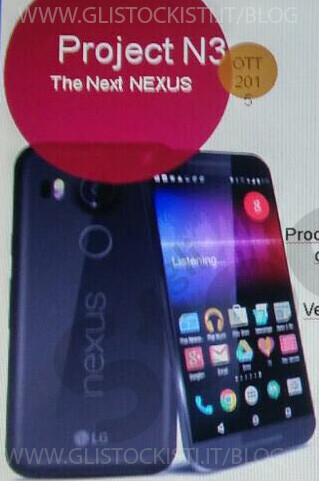 LG Nexus 5X leaks in black, with full specs sheet in tow