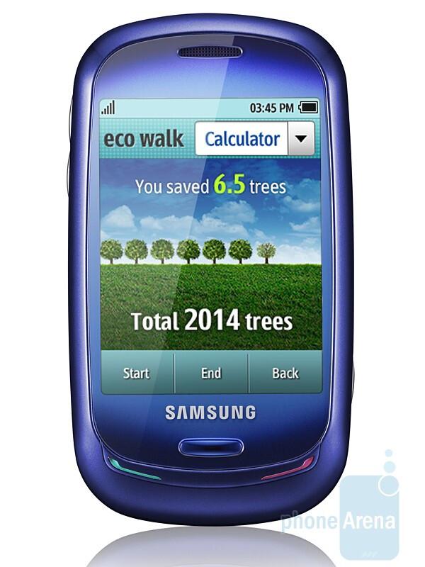 Samsung unveils the Blue Earth solar-powered phone