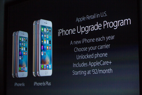 Apple iPhone 6s and iPhone 6s Plus pricing