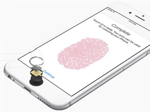 Even faster Touch ID fingerprint scanning