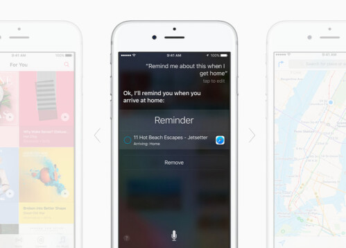 Always on 'Hey, Siri' thanks to the new M9 motion co-processor