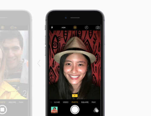 No more low-res selfies as 5-megapixel front cam is now on board with Retina Flash