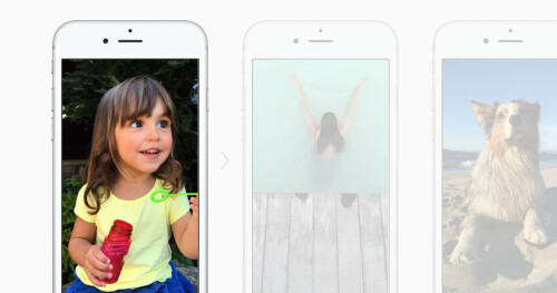 Live Photos are short snippets of video captured along your image stills