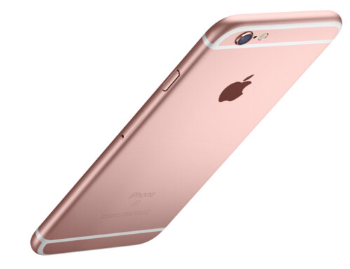 Rose Gold color option - just don't call it pink
