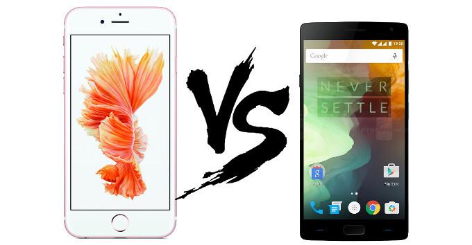 Apple iPhone 6s Plus vs OnePlus 2: in-depth specs comparison