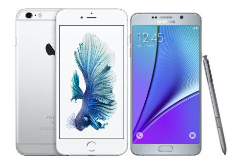 iPhone 6s Plus vs Samsung Galaxy Note5