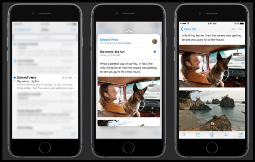 3D Touch on the iPhone 6s and 6s Plus