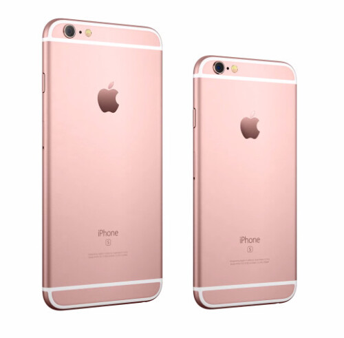 iPhone 6s and iPhone 6s Plus in Rose Gold