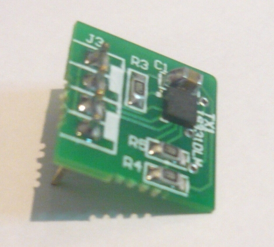 A test board for the LIS331DLH chip. - Did you know that your smartphone's accelerometer is able to sense earthquakes?