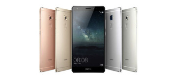 Huawei Mate S chassis colors