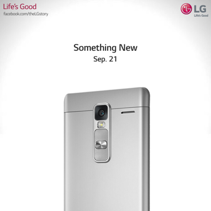 LG teases 'something new' with a picture: expect a mid-range LG Class phablet