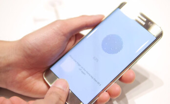 Image result for Samsung mobile phone and the fingerprint identification is now