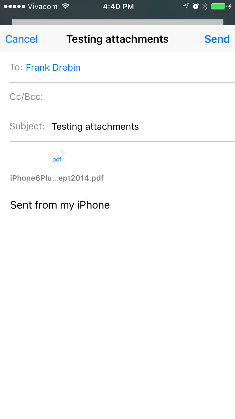 how to edit a pdf email attachment on iphone