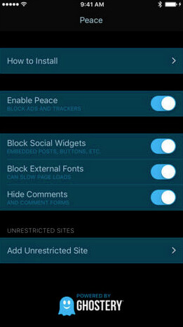 Ad-blocking app Peace has been pulled from the App Store - Top ad blocking app Peace is pulled from the App Store