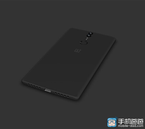 Slick OnePlus Mini renders pop up, rear-mounted fingerprint scanner and two cameras in tow