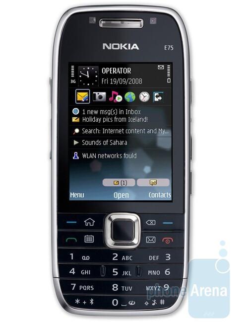 Nokia E75 - Nokia announces new smartphones from the E-series