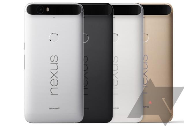 Huawei Nexus 6P color options leak ahead of next week's official unveiling
