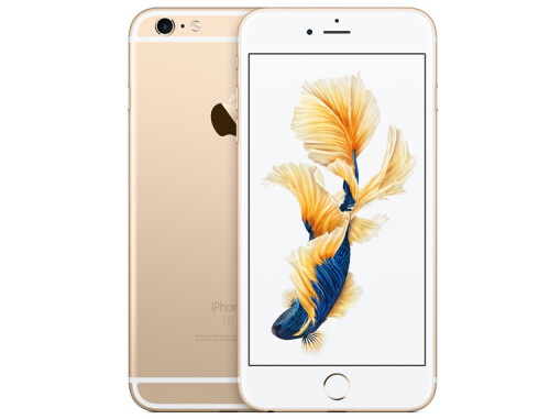 iPhone 6s Plus in gold
