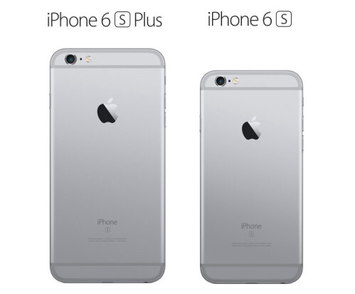 iPhone 6s Plus and 6s in space gray