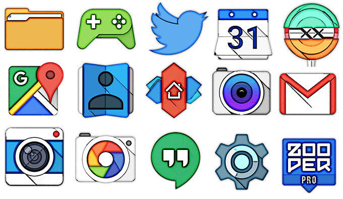 Best new icon packs for Android (September 2015) #2