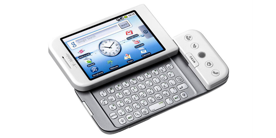 Did you know: the first Android smartphone launched exactly 7 years ago