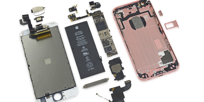 Here's what's inside an Apple iPhone 6s: teardown reveals 2GB of RAM, it's easy to get it repaired