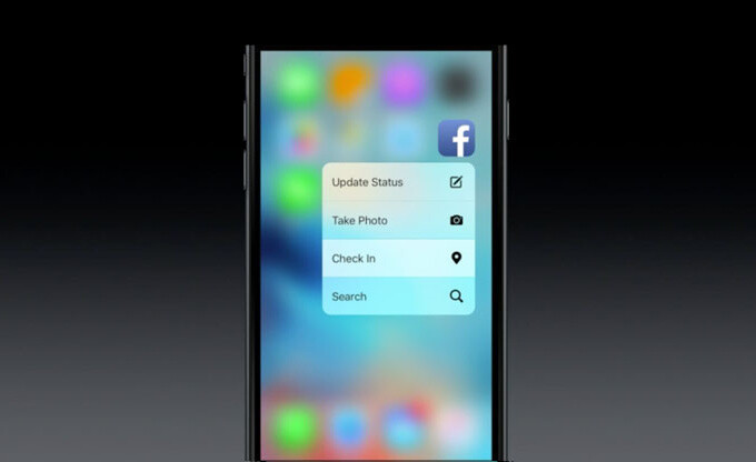Apps with 3D Touch on iPhone 6s: here is a list