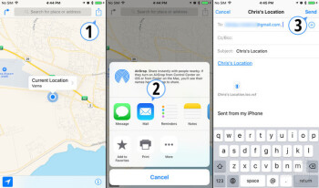 how to stop sharing location on iphone
