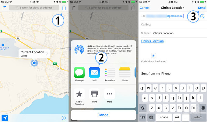 Sharing locations via Apple Maps in three easy steps - How to share your location from your iPhone (using Apple Maps, iMessage, etc.)
