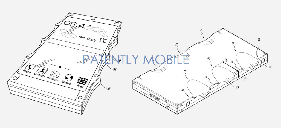 Google applies for a patent on a new smartphone housing that helps prevent drops - Patent application by Google designed to help butterfingers from dropping their phone