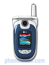 LG VX8100 multimedia phone launched by Verizon