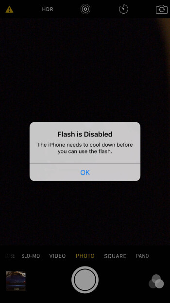 Apple iPhone 6s overheating for some users: camera flash won't work until phone cools down