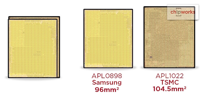 X-Rays prove that Apple is dual-sourcing the A9 chip inside the iPhone 6s from TSMC and Samsung