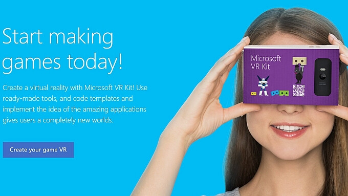 Microsoft is working on its own version of the Google Cardboard