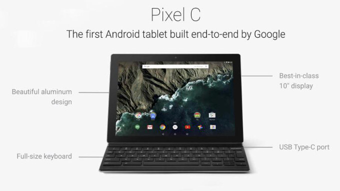 The Pixel C is Google's laptop-tablet hybrid and it's pretty cool