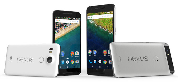 How do you like the designs of the new Nexus phones?