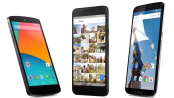 The Nexus wars! Google Nexus 5X vs Nexus 6 vs Nexus 5: specs comparison
