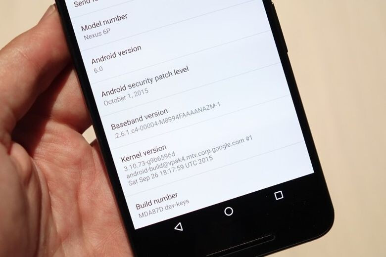 """Android 6.0 Marshmallow will show your device's """"security patch level"""""""